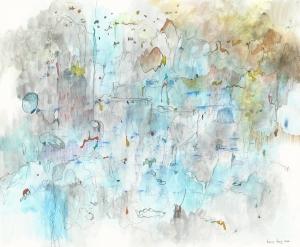 Bang Dang--SCRIBBLES ON BLUE