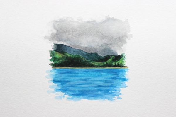 Faisal Warsani--Hanalei Bay