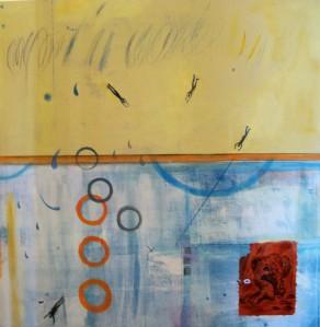 Jennifer Stufflebeam--Diving--48 x 48