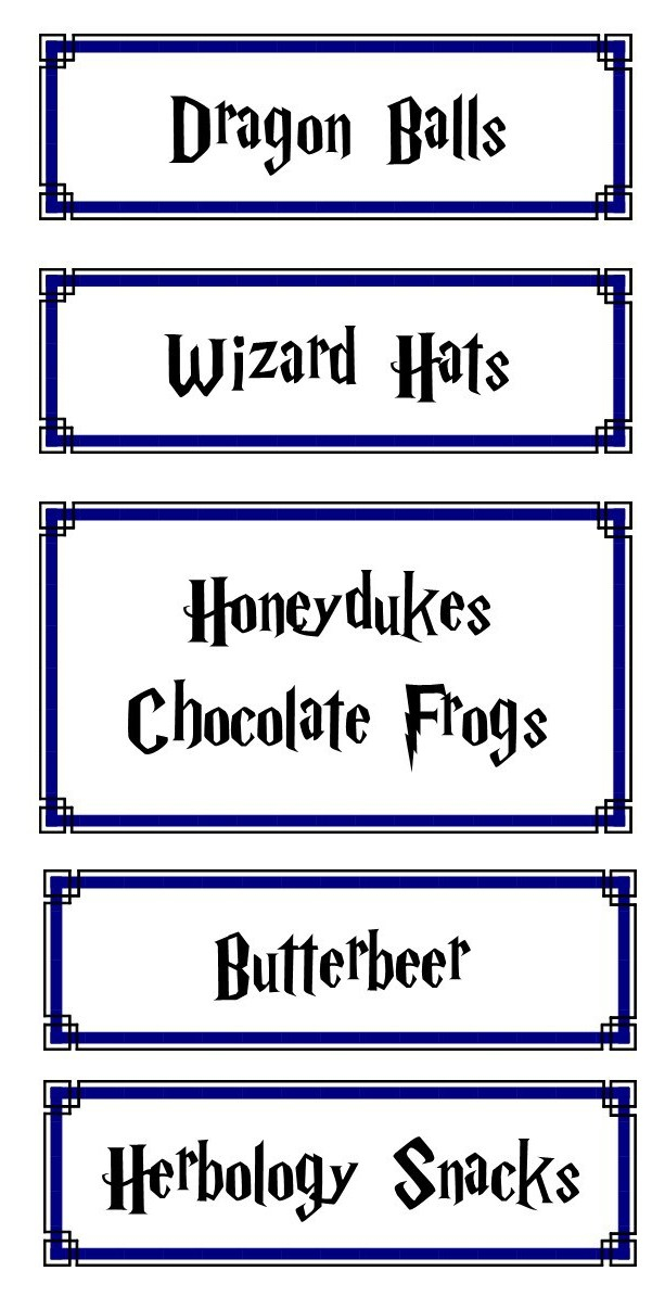 image relating to Honeydukes Sign Printable known as A Harry Potter Birthday Bonnie Jo Stufflebeam
